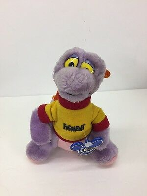 VIntage DISNEYLAND DISNEY WORLD Parks FIGMENT DRAGON PLUSH Toy NWT 7 Inch