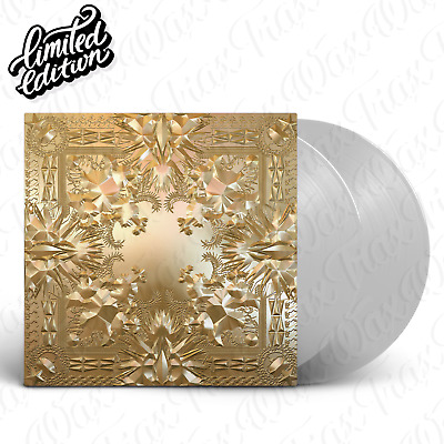 Jay Z / Kanye West - Watch The Throne [2LP] Vinyl Limited Edition Clear/Colored
