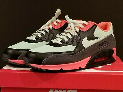 new product 83a4f 3e766 Nike Air Max 90 Essential Vapor Green Infra red