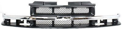 CPP Gray Grill Assembly for Chevrolet Blazer, S10 Grille