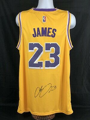 timeless design 694bf 26053 LEBRON JAMES AUTOGRAPHED Signed Cleveland Cavaliers Jersey ...