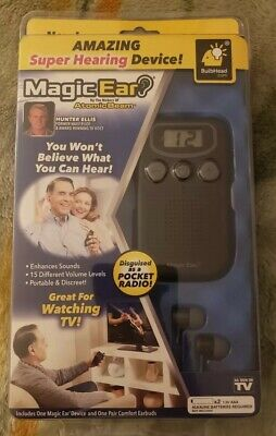 Atomic Beam Magic Ear Personal Sound Booster Hearing Aid Device As Seen On TV
