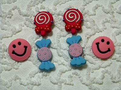 Croc Clog Happy Face / Candy Plug Shoe Charms Will Also Fit Jibitz,Croc C 622