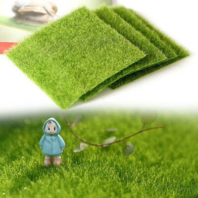 1 Pcs Artificial Grass Mat Square Thick Greengrocers Fake Turf Astro Lawn Gsrden
