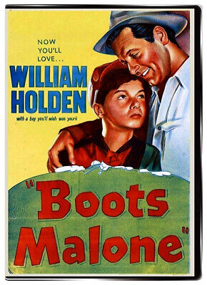 Boots Malone 1952 DVD - William Holden, Johnny Stewart