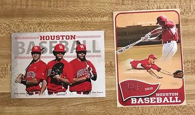 2012 and 2013 University Of Houston Cougars College Baseball Schedules
