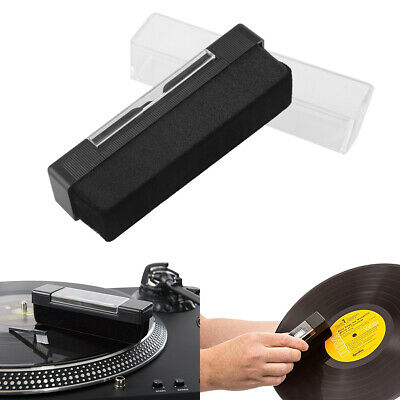 Vinyl Record Cleaning Kit Velvet LP/CD Phonograph Anti-static Dust Spots Cleaner