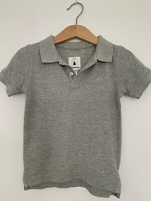 COUNTRY ROAD Baby Boy Grey Polo Top Sz 2 (18-24 Months) BNWOT