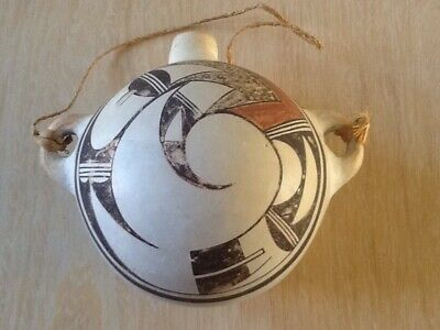 Old Acoma Pueblo Pottery Canteen/Water Jar - Pre-Owned - From Pueblo Collection.