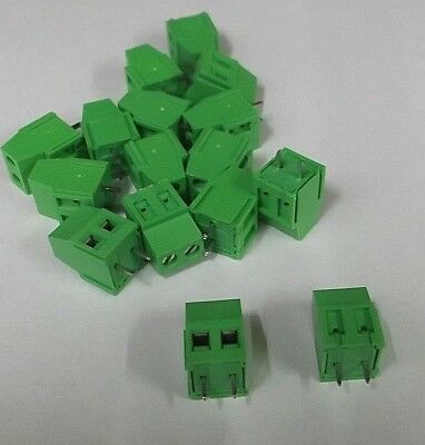 16A Terminal Block 2 Way 16 Amp  5.08mm PA250-5.08-2VE Vertical PCB Offers x1pc
