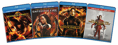 The Hunger Games Complete Collection (Blu-ray  New Blu