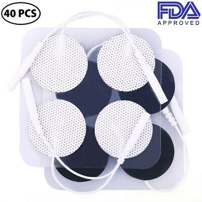 1.25'' Replacement Tens Electrode Pads EMS for Units 7000 3000 Muscle Stimulator