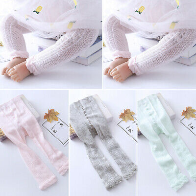 Newborn Infant Kids Baby Girl Tights Pantyhose Cotton Soft Socks Stockings Pants