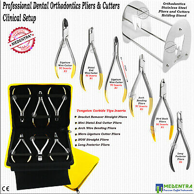 Dental Wire Pliers and Ligature Pin Cutters TC Orthodontics Clinical Setup Range