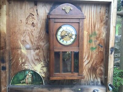 Antique art deco  Wall clock