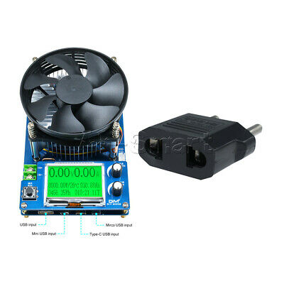 """150V 10A 150W 2.2"""" Display Intelligent Electronic Load Battery Discharge Tester"""