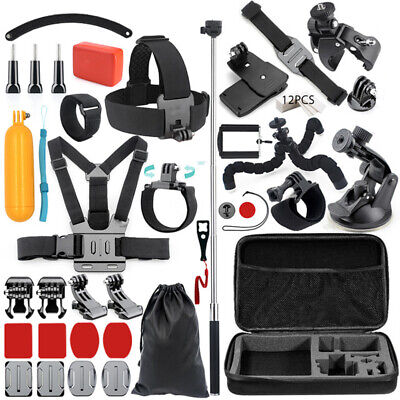 Accessories Kit for Gopro Go pro Hero 7 6 5 4 for Xiaomi yi/SJCAM/SJ4000/SJ5000