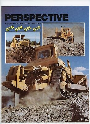 Caterpillar Tractor Co Advertising Direct Mail Piece