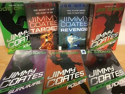 Jimmy Coats series, by Joe Craig: collection of 7 children's books