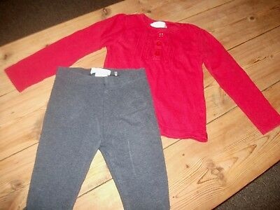 Girls Trousers & Top Outfit Age 6-9 Months