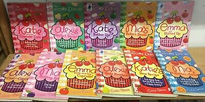 The Cupcake Diaries, by Coco Simon: collection of 11 children's books