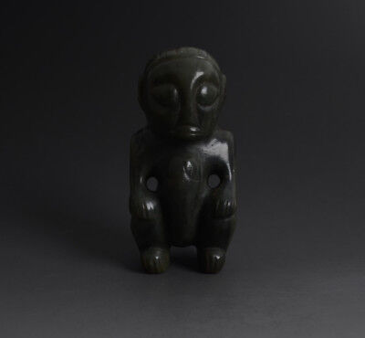 Chinese HongShan Culture Style Jade Male Statue/JR11409