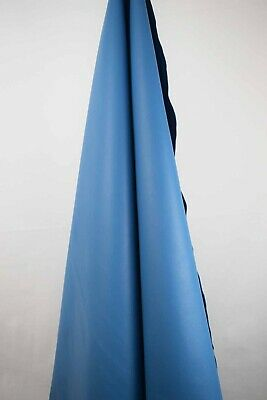 Blue Italian Leather Hide 2m2 1.5mm thick