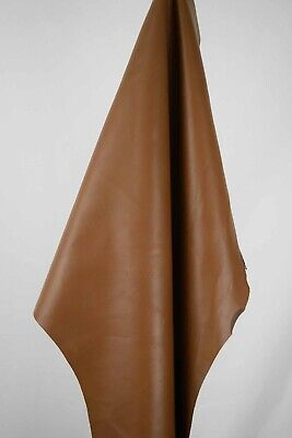 Tan Hairsheep Italian Leather hides 0.6m2 1mm