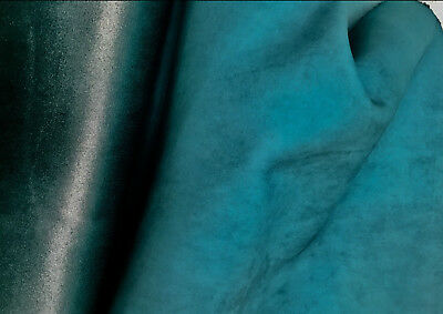 Teal Italian Leather Hide APX 2m2 2mm thick