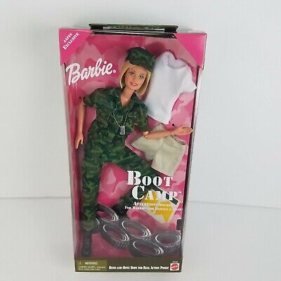 1999 Boot Camp Barbie Mattel Brand New Sealed Vintage Air Force Aafes Exclusive