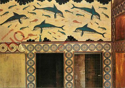 Picture Postcard::Crete, Heraklion, Fresco Of The Knossos Palace, The Dolphins