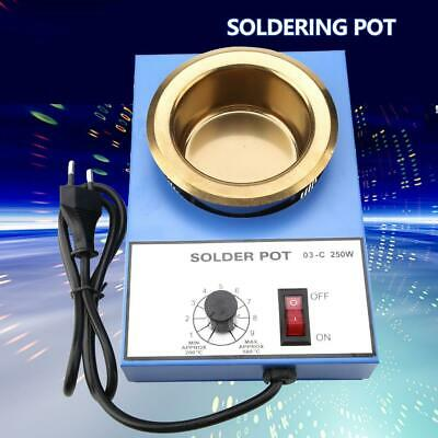 250W/300W 220V 100mm Solder Pot Soldering Pot Desoldering Bath High Quality