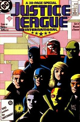 Justice League International/europe Complete 1980S-90S Digital Collection On Dvd