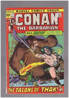 Conan the Barbarian # 11  The Talons of Thak !  grade 9.0 scarce book !