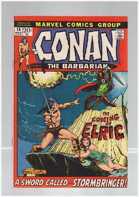 Conan the Barbarian # 14  A Sword Called Stormbringer !  grade 9.0 scarce book !