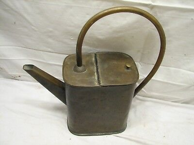 Antique Brass Tin Lined Filling watering Can Garden Tool Well Made