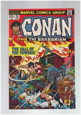 Conan the Barbarian # 26  The Fall of the Towers !  grade 9.0 scarce book !