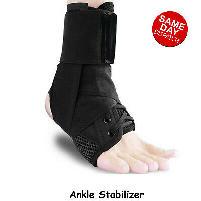 Ankle Brace Stabilizer Ankle Support Compression Strap Wrap Sprain Instability