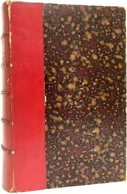 1868 Metamorphoses Blanchard Illustrated Fine Binding Insects Spiders French 1St