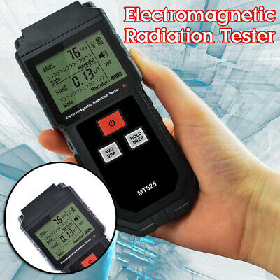 Electromagnetic Radiation Tester Meter Geiger Counter Electric Magnetic Double