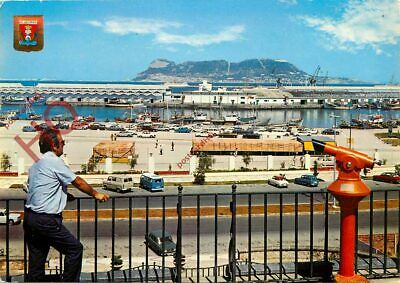 Picture Postcard--Algeciras, Port, View Of Rock Of Gibraltar
