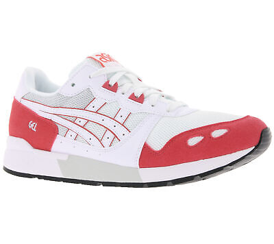 grand choix de 993a0 6b2ae BASKETS COOL ASICS Gel-Lyte blanches / rouges
