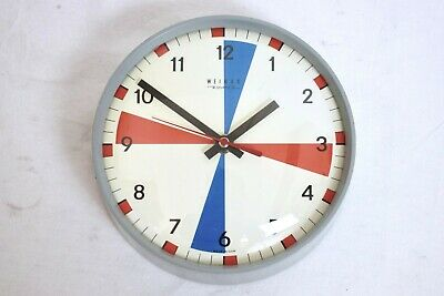 "Vintage Weimar Quartz East German Gdr 7"" Ships Wall Clock"