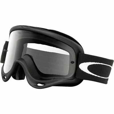 Oakley O-Frame Mx Motox Goggles Colour Matte Black With Clear Lens