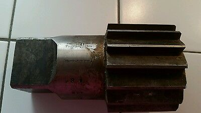 "3-1/2"" NPT Pratt & Whitney Taper Pipe Reamer, Straight flutes *Made in USA*"