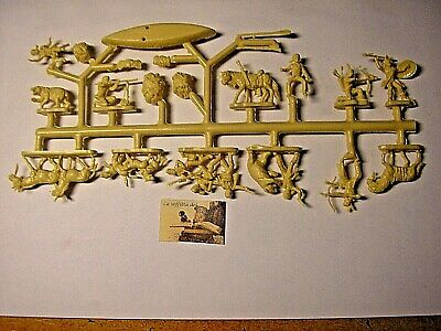 Sprue Soldatini Atlantic Davy Crockett serie Far-West scala H0-00