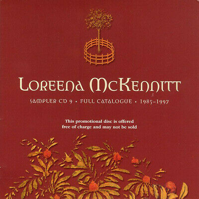 Loreena McKennitt Sampler CD 9 - Full Catalogue - 1985-1997 2000