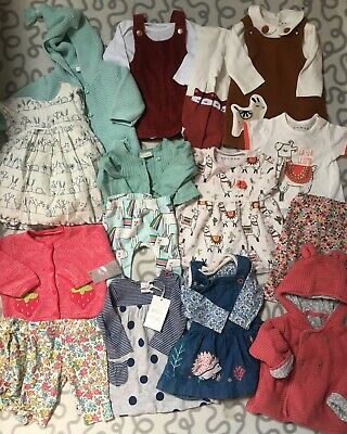 Baby Girls 0-3 Clothes Bundle Outfits Sets Next Some Bnwt