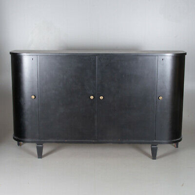 vintage retro credenza sideboard 1950s 60s curved front Heals