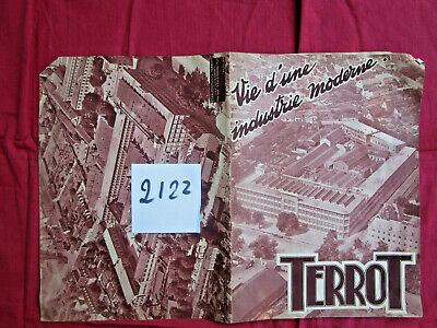 "N°2122 /  catalogue TERROT ""vie d'une industrie moderne"" 9-1935"
